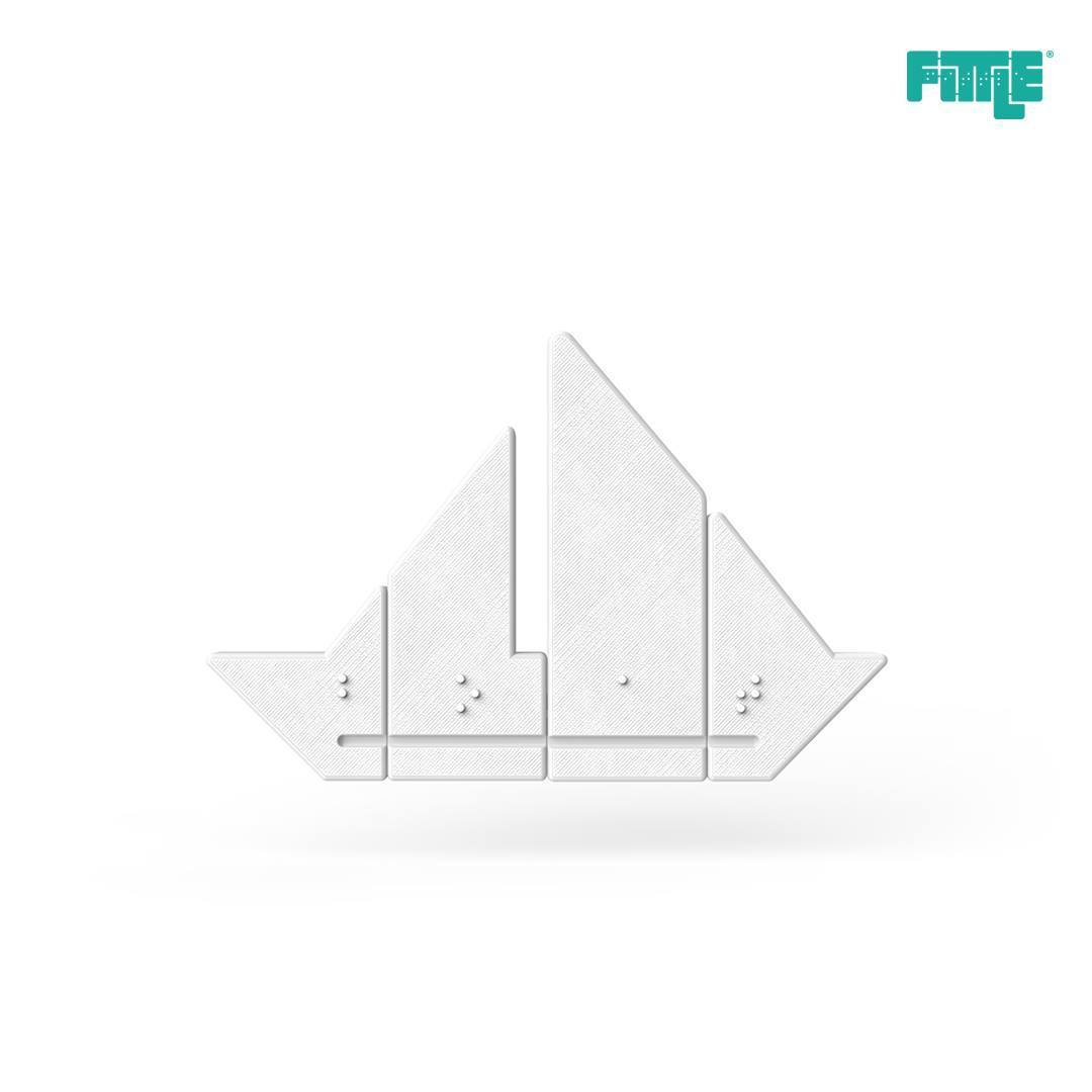29178254_1947341561965862_4378100085980921856_o.jpg Download free STL file Boat Fittle Puzzle • 3D print model, Fittle