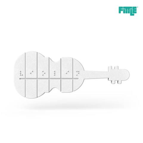 Free stl files Violin Fittle Puzzle, Fittle