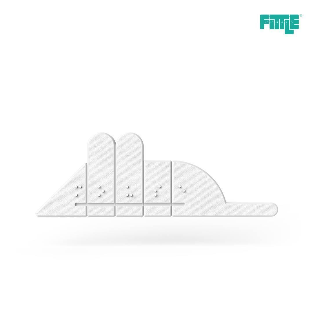 29101886_1947341611965857_535306014895898624_o.jpg Télécharger fichier STL gratuit Mouse Fittle Puzzle • Plan à imprimer en 3D, Fittle