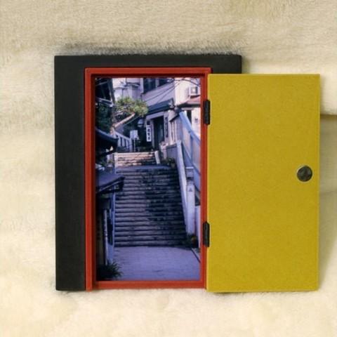 156005c5baf40ff51a327f1c34f2975b_preview_featured.jpg Télécharger fichier STL gratuit Cadre photo de porte • Objet pour impression 3D, tofuji