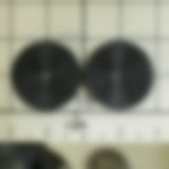 Free 3D printer file concentric_circles, tofuji