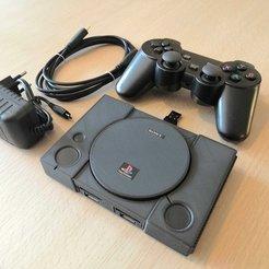 19.jpg Télécharger fichier STL Playstation mini Raspberry Pi 3 • Plan à imprimer en 3D, 3DPO33