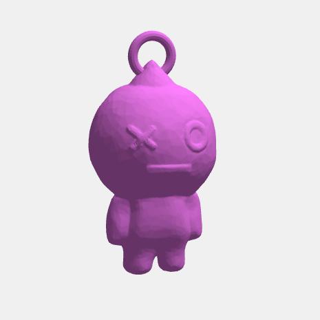 Vans1.png Download STL file VAN Keychain Figure BTS • 3D print model, abauerenator