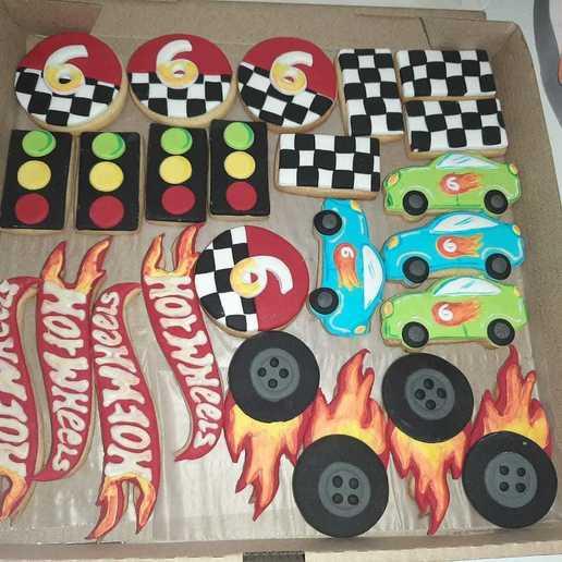 Télécharger objet 3D HotWheels Cookies Cookies Cutter logo, abauerenator