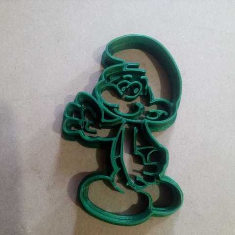 Download 3D printer designs Cookies cutter Smurf, abauerenator