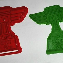 Fichier 3D Piston Cup cookie cutter, Cortante de Galletas de la copa piston, abauerenator