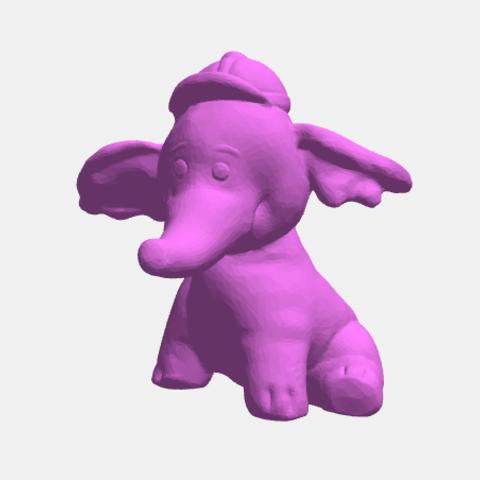 Lampy1.png Download STL file Lumpy, Heffalump, efelante • 3D printable model, abauerenator