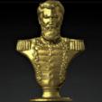 Download STL Bust of Martín Miguel de Güemes, abauerenator