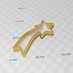 estrellabelen.jpg Download STL file Belen star, Belen star cookies cutter • 3D printing template, abauerenator