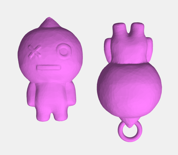 Vans2.png Download STL file VAN Keychain Figure BTS • 3D print model, abauerenator