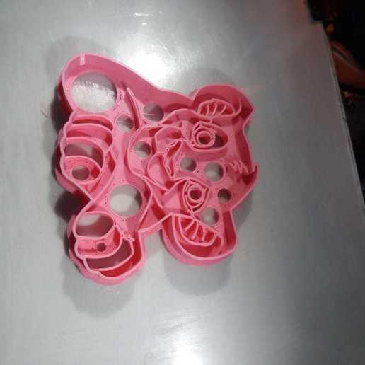 Télécharger modèle 3D coupe-biscuits simba, abauerenator