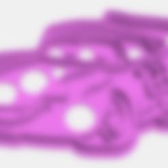rayoCookiesCutter.stl Download STL file cookies cutter Rayo McQueen, Cortante de Galletas  Rayo McQueen • Model to 3D print, abauerenator