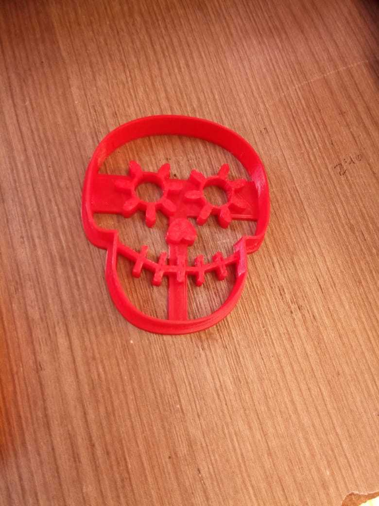 WhatsApp Image 2018-09-21 at 09.42.26.jpeg Download STL file Coconut Skull Kit Cookies cutter • 3D printable object, abauerenator