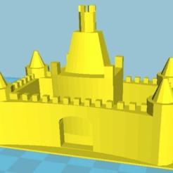 MIcastillo.png Download free STL file sandcastle mould • 3D print object, abauerenator
