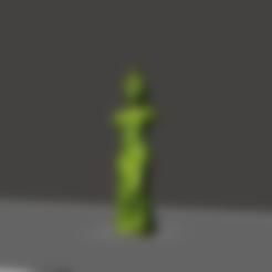 3D printing model SIMPSONS GUMMY VENUS, JELLY VENUS STATUE KeyChain, abauerenator