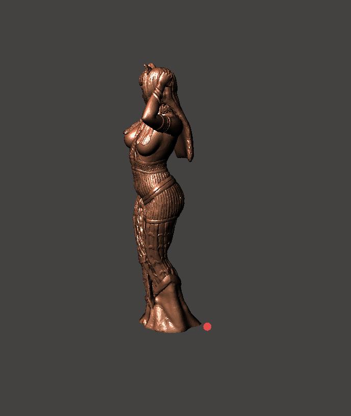 3.png Download STL file Egipcia Diosa Bast, Bast goddess  • 3D printable model, abauerenator
