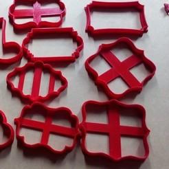 Descargar modelos 3D Kit Cortantes Marcos Vintage, abauerenator