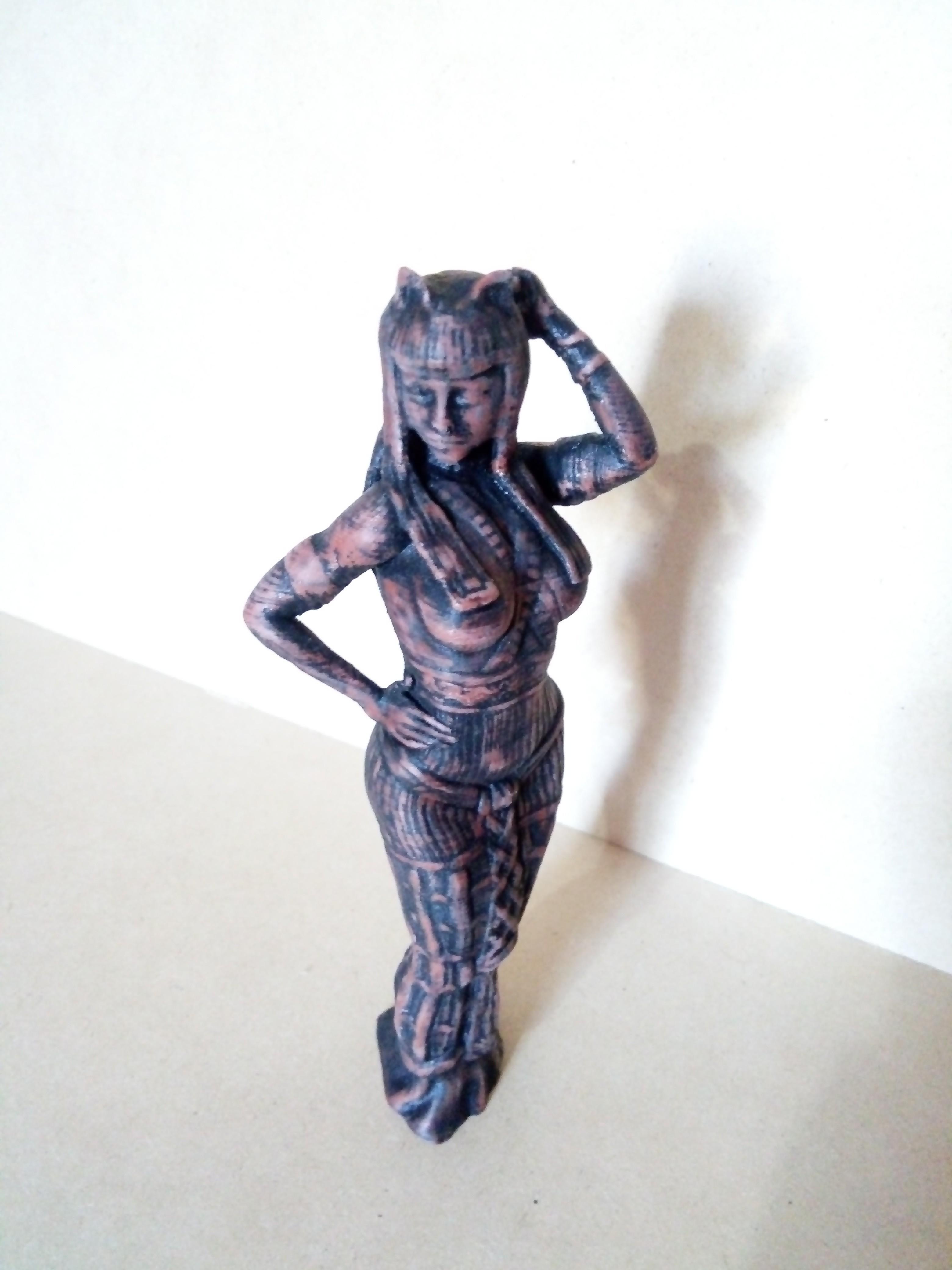 IMG_20180803_164719.jpg Download STL file Egipcia Diosa Bast, Bast goddess  • 3D printable model, abauerenator
