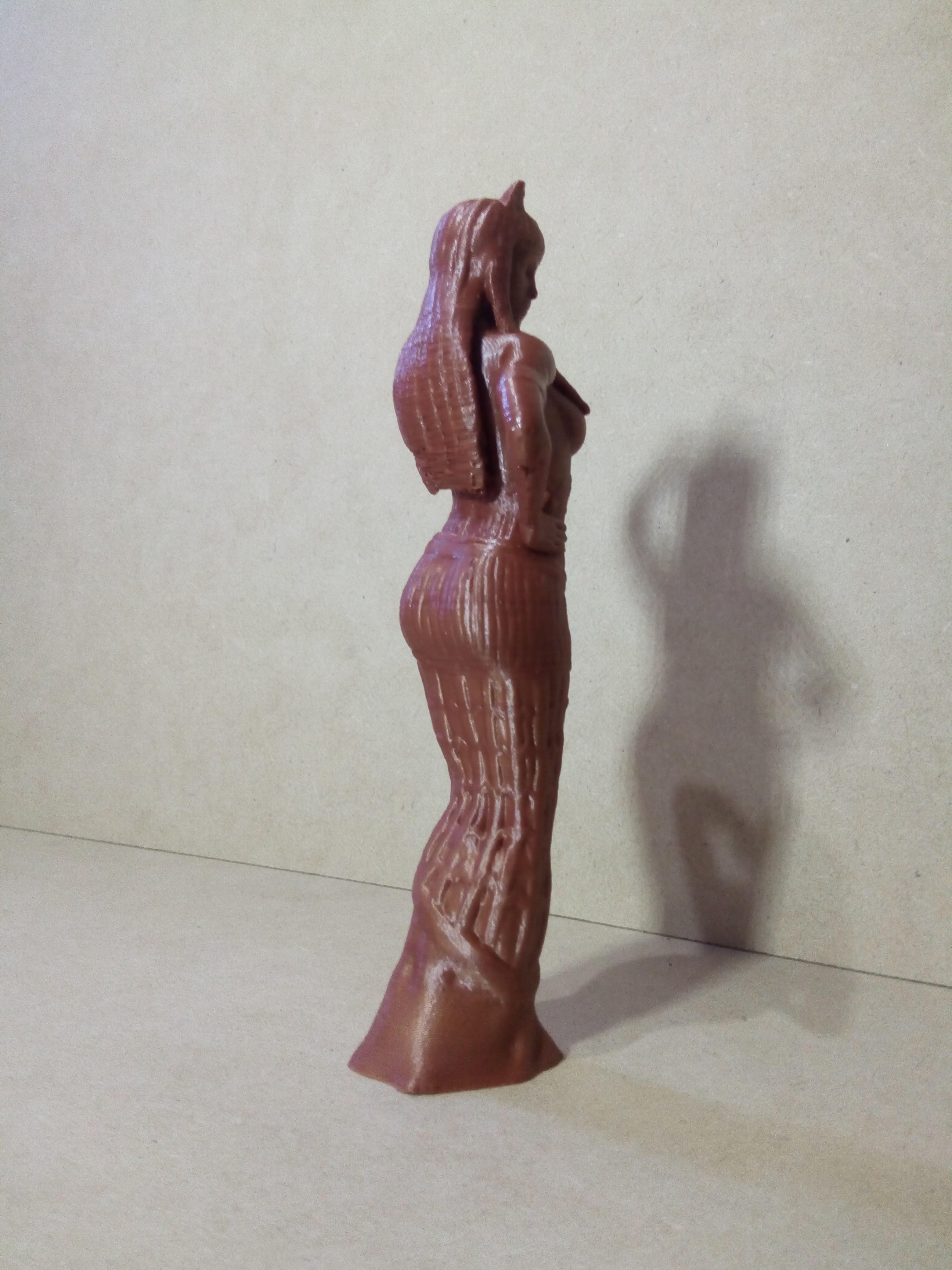 IMG_20180803_152255.jpg Download STL file Egipcia Diosa Bast, Bast goddess  • 3D printable model, abauerenator