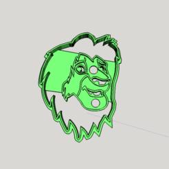 Download 3D print files Mufasa King Leon Cookies cutter, abauerenator
