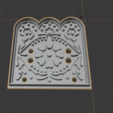 Descargar diseños 3D Banderin Mexicano cookies cutter, abauerenator