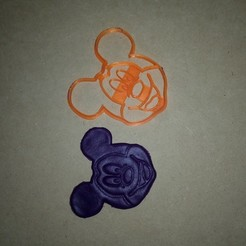 3D print model mickey mouse cutters, abauerenator