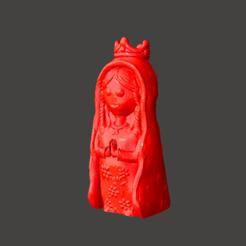3d print files Virgen Porfis, Virgencita Plis, abauerenator