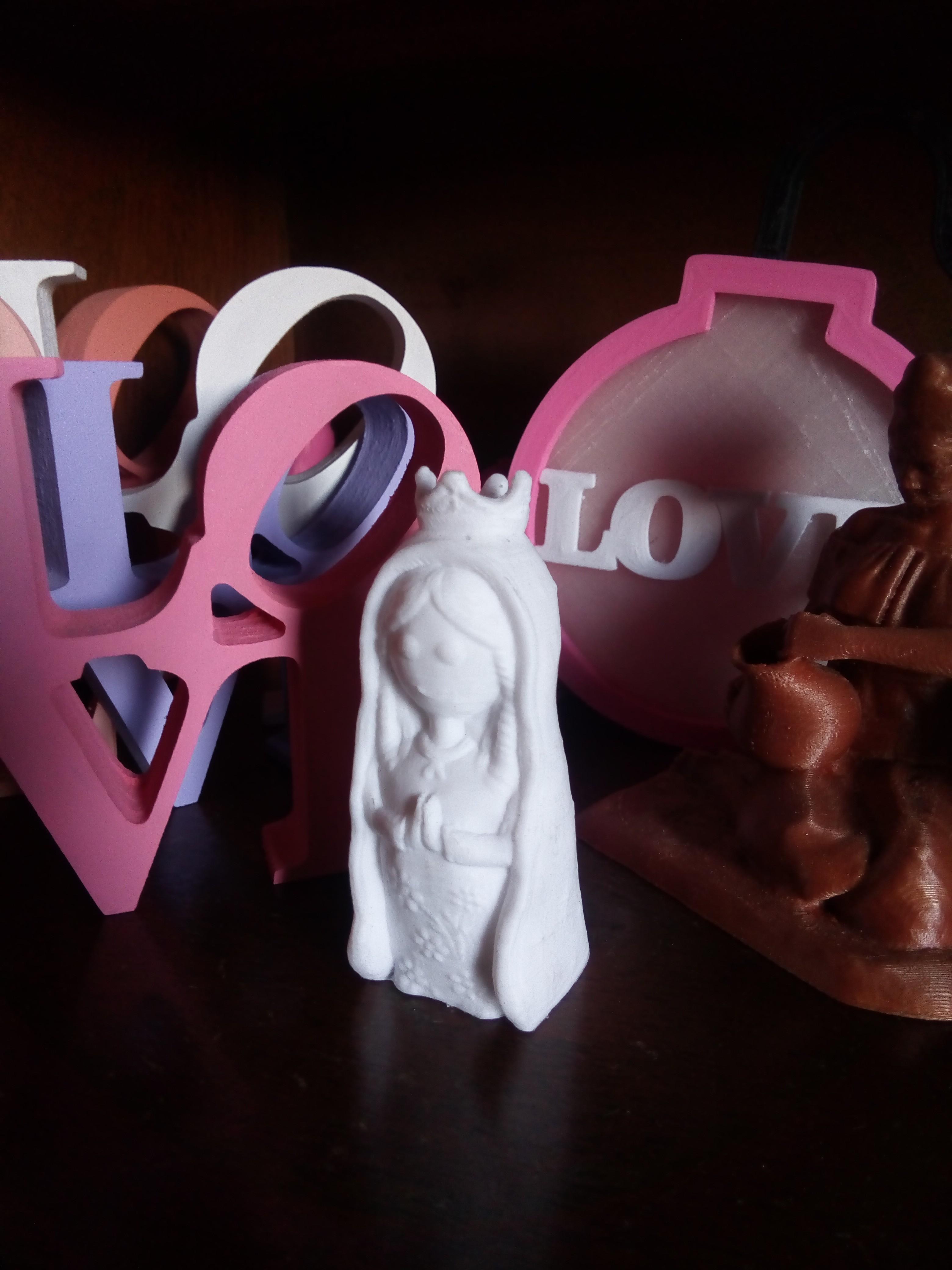 IMG_20180815_151758.jpg Download STL file Virgen Porfis, Virgencita Plis • 3D print template, abauerenator