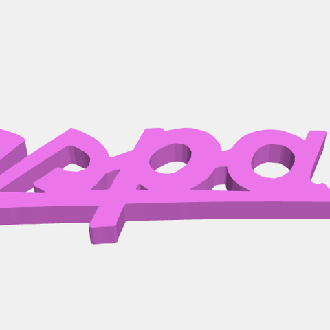 Bespa150.png Download STL file Piaggio Vespa Emblems • 3D printable design, abauerenator