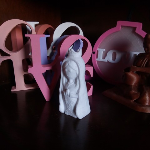 IMG_20180815_152001.jpg Download STL file Virgen Porfis, Virgencita Plis • 3D print template, abauerenator