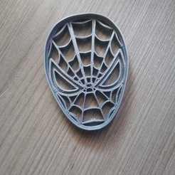 Imprimir en 3D Spiderman Face Cookies Cutter, abauerenator
