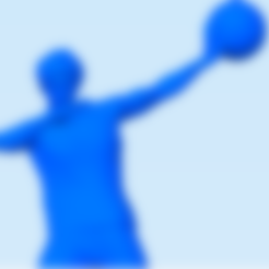 basquet6.stl Download STL file Basquet Ball player Posed • 3D print model, abauerenator