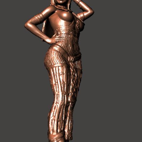 5.png Download STL file Egipcia Diosa Bast, Bast goddess  • 3D printable model, abauerenator