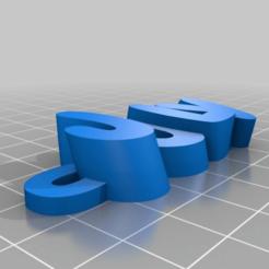namekeyringv1-3_20151116-32680-1dhkm0b-0.png Télécharger fichier STL gratuit Mon texte personnalisé iamburny's - Porte-clé nom / Porte-clé juillet • Modèle imprimable en 3D, abauerenator