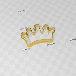 corona.jpg Download STL file Crown, corona, cookies cutter • Object to 3D print, abauerenator