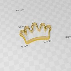 Télécharger STL Couronne, couronne, couronne, coupe-biscuits, abauerenator