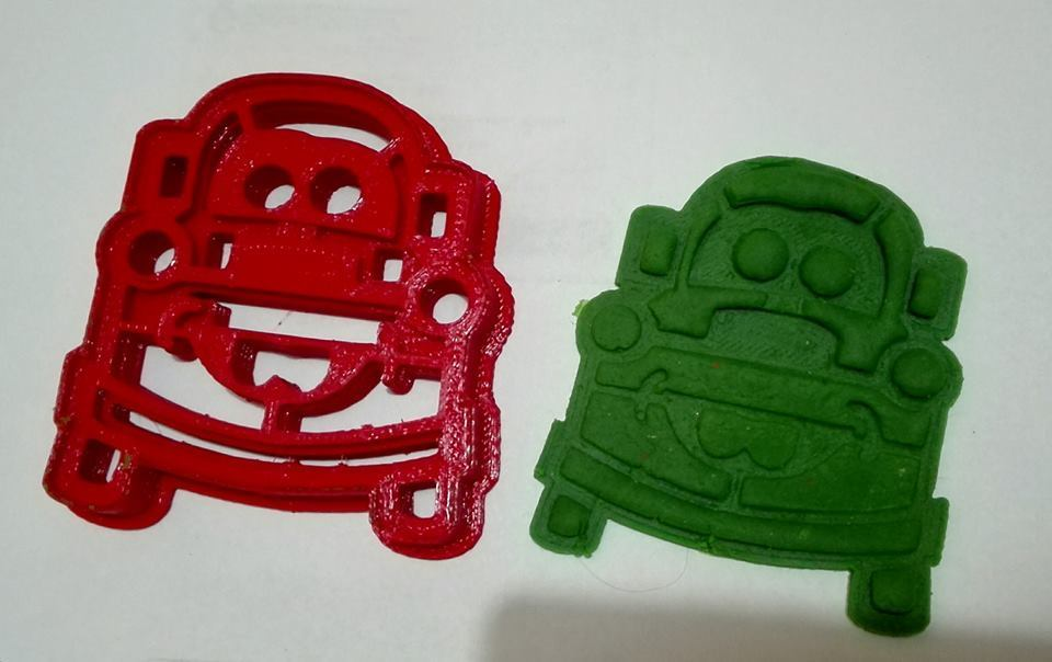 14708152_954797601291697_9200258434528855456_n.jpg Download STL file Cookies Cutter, Mate Cars, Cortante de Galletas Mate Cars • 3D printer design, abauerenator