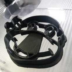 Modelos 3D para imprimir Ninja Turtle cookies cutter head, abauerenator