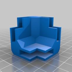 simple_frame_20151015-16613-dg26ku-0.png Télécharger fichier STL gratuit Mon mini système d'encadrement modulaire paramétrique personnalisé - Corner Block 5mm • Plan à imprimer en 3D, abauerenator