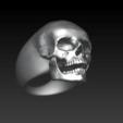 Descargar STL Skull Ring, abauerenator