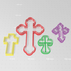 Descargar modelos 3D Kit de cortantes de 4 cruces comunion , abauerenator