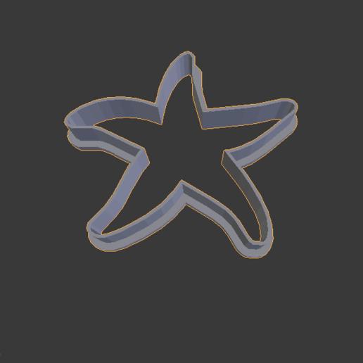 Descargar archivo 3D Estrella de mar cookies cutter, abauerenator