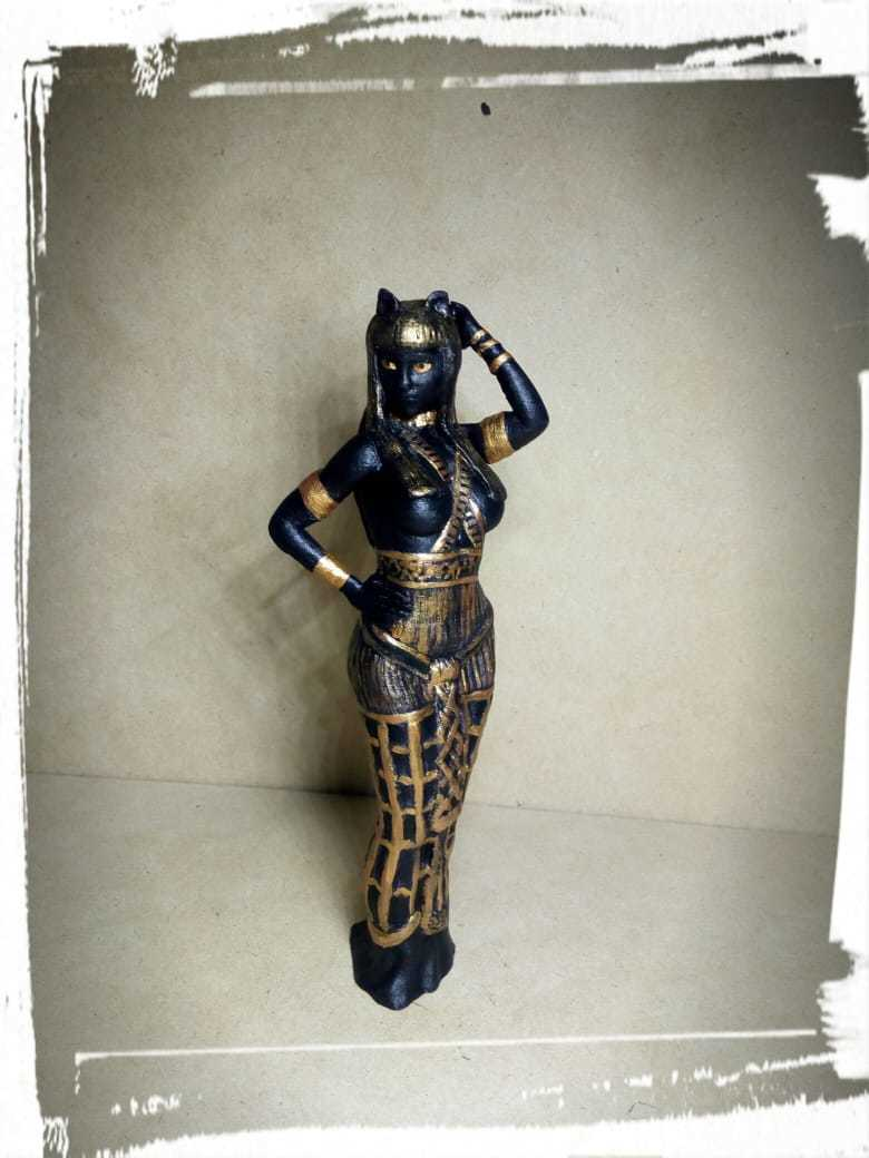 WhatsApp Image 2018-08-10 at 23.20.04 (2).jpeg Download STL file Egipcia Diosa Bast, Bast goddess  • 3D printable model, abauerenator