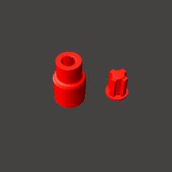 Descargar diseños 3D Repuesto Cardan Mini Pimmer mixer Phillips, abauerenator
