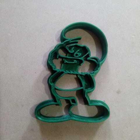 3D printer models Cookies Cutter Papa Smurf - Papa Smurf, abauerenator
