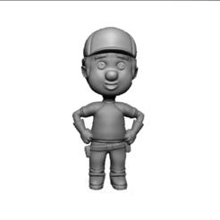 handymanny2.png Download STL file Handy Manny - Many a la Obra figure • 3D printer model, abauerenator