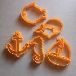 Download 3D print files Nautical_Marine cookies Cutter, abauerenator