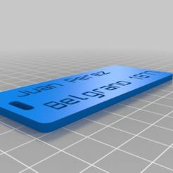 luggage_label_customizer_2013-11-01_20151125-10724-1wq2rnv-0.png Télécharger fichier STL gratuit Mon personnalisateur Version de l'étiquette du bagage • Objet pour impression 3D, abauerenator