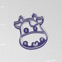Télécharger fichier impression 3D Couteau à biscuits Lola de vache, abauerenator