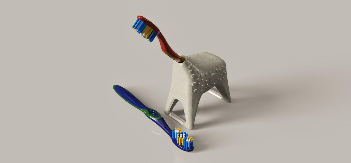 itinerancia128.jpg Download free STL file Toothbrush holder (Giraffe) • Design to 3D print, pipeaguirres